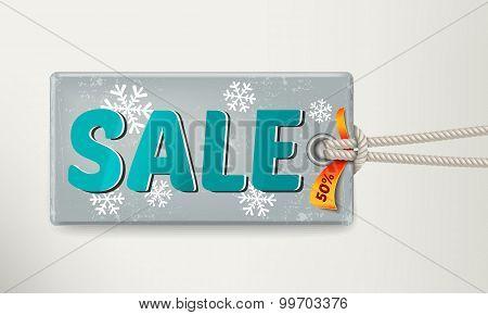 Sale Tag Design. Vector Illustration Eps 10