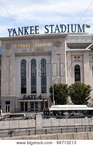 NEW YORK CITY, USA - SEPTEMBER, 2014: Yankee Stadium in New York City