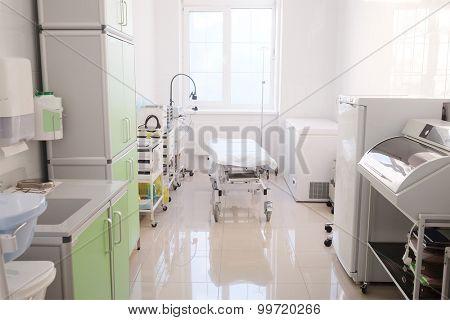Interior of a hospital ward