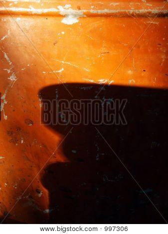 Brown Copper Destilation Tank Reflection Detail