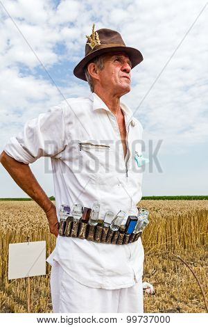 Portrait Of A Senior Farmer.