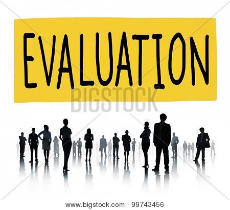 Evaluation Consideration Analysis Criticize Analytic Concept poster