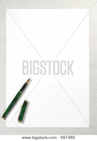 Write Me Letter Pen Paper