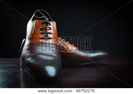 Fashionable Leather Shoes For Men