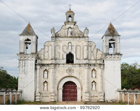 Honduras, View On The Iglesia La Merced Of Gracias