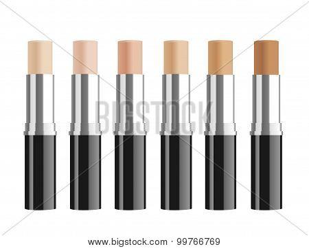 Foundation tubes.
