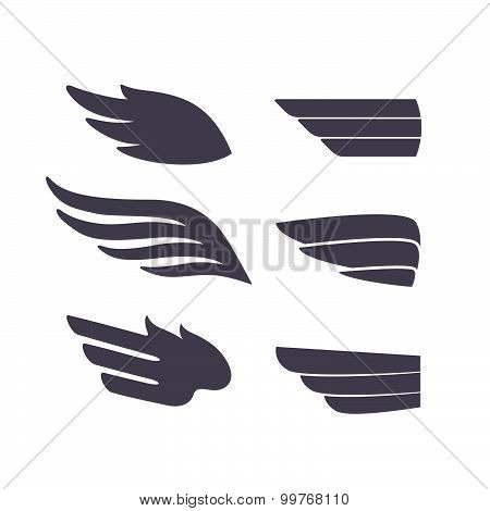 Decorative Isolated Wings