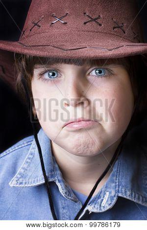 Cute freckle faced boy