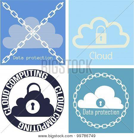 Cloud computing - set of 4