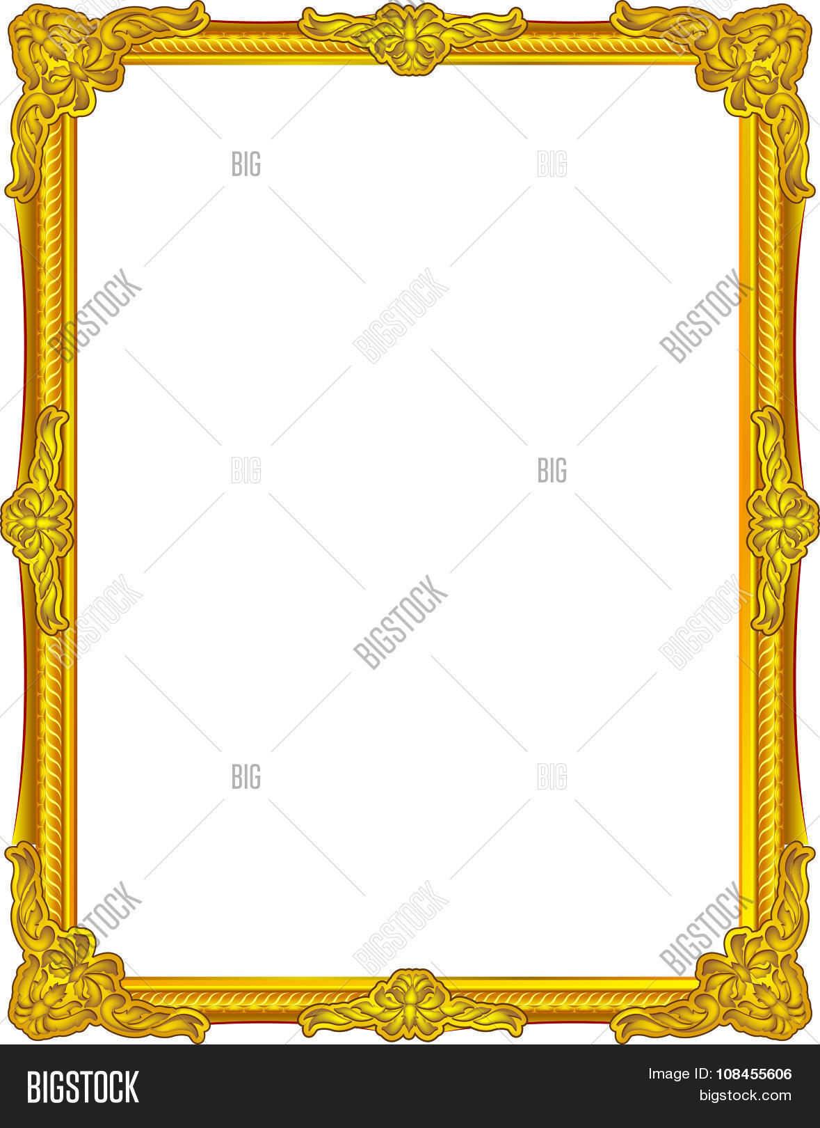 1291db8c240 gold frame louis picture vector abstract design gold frame color
