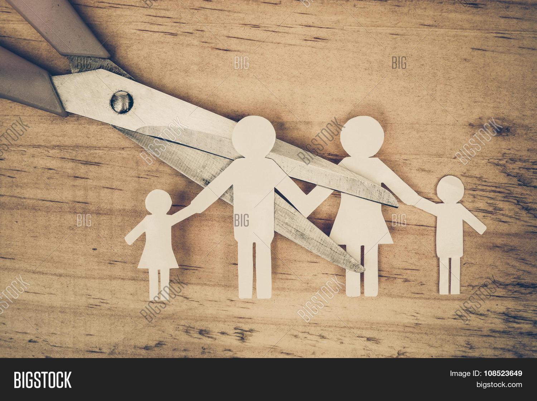 Broken Family Image & Photo (Free Trial) | Bigstock