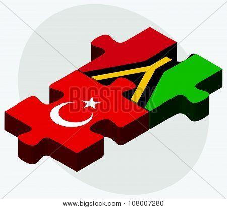 Turkey And Vanuatu Flags