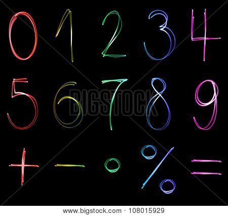 Flourescent numbers
