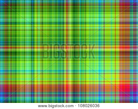 Mutli colored plaid or tartan pattern background poster