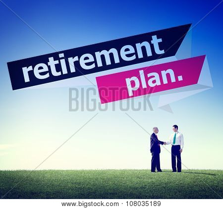 Retirement Plan Retirement Planning Pension Concept
