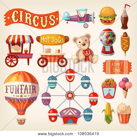 Fun Fair Icons