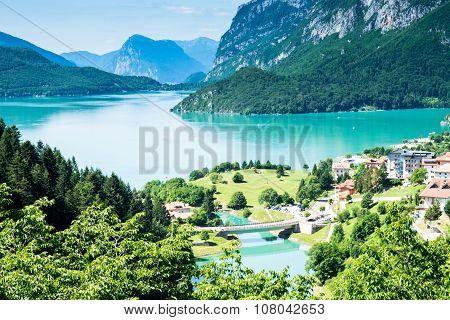 Lake Molveno, Elected Most Beautiful Lake In Italy.