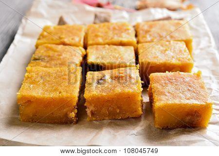 Dessert Pumpkin Bars