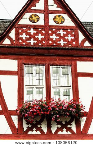 Quaint half-timbered houses in Limburg an der Lahn, Germany