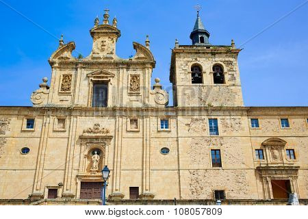 Villafranca del Bierzo by Way of Saint James in Leon Spain convento Padres Paules