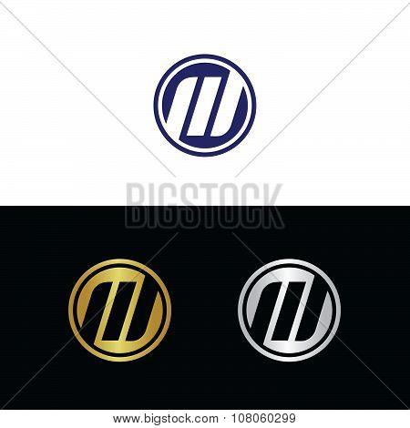 Italic letter M