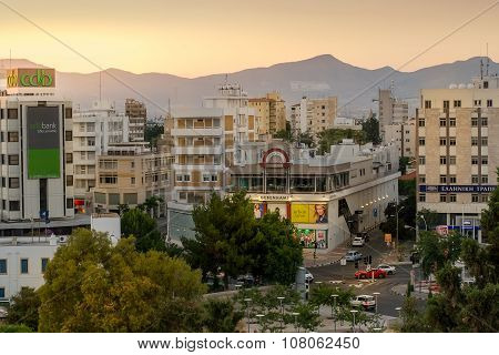 Nicosia city center