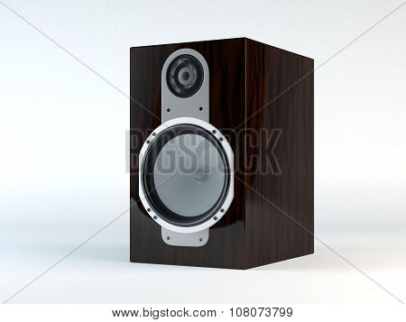 Monitor Loudspeaker Wooden