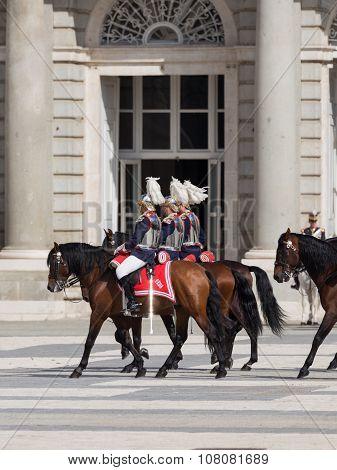 Horseback Riders Armory Square, Spain