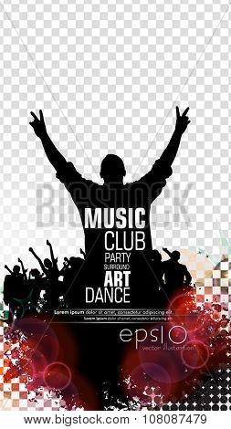Disco event background
