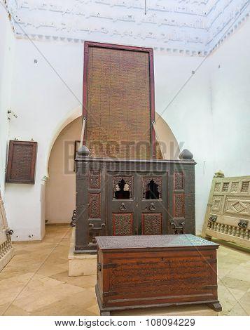 The Mausoleum Interrior