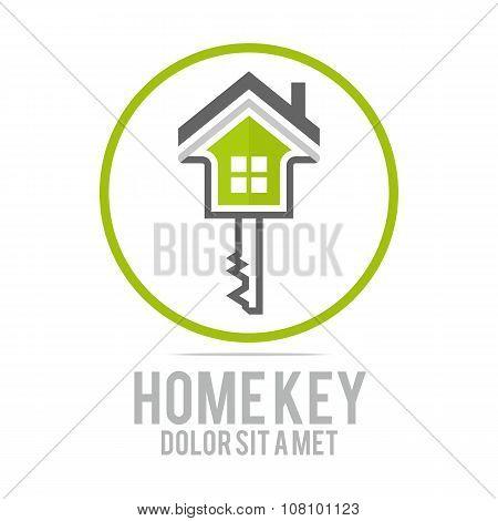 Logo Home key
