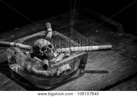 Smoking To Death.