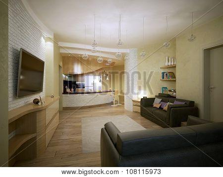 Studio Apartment Vanguard Style