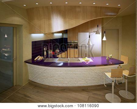 Kitchen Avant-garde Style