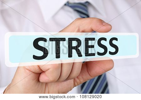Businessman Business Concept With Stress Stressed Burnout At Work