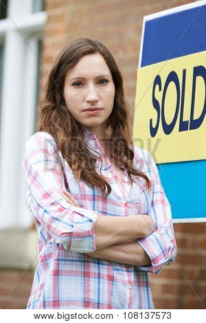 Woman Forced To Sell Home Through Financial Problems poster