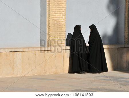 Two Muslim's Woman Talk