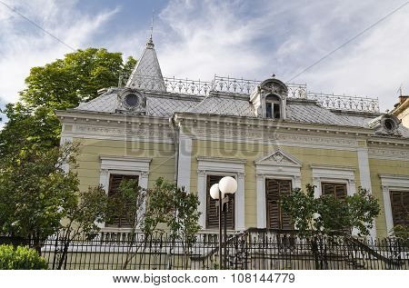 Building Neoclassical Style Late 19Th Century, Bulgaria Ruse