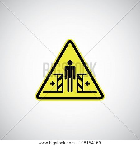 Entrapment Risk Sign