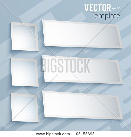 Vector-presentation-template-layout-banner-options