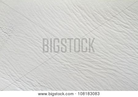Old white leather texture for abstract background.