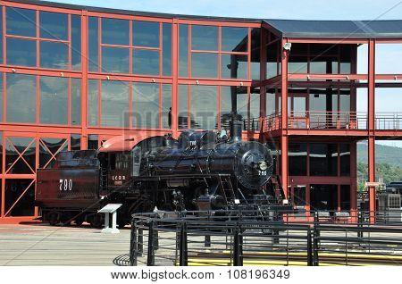 Steamtown National Historic Site in Scranton, PA