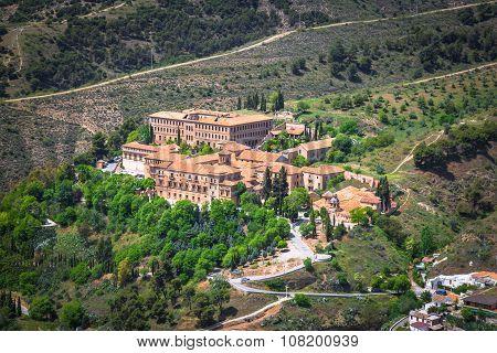 Sacromonte Abbey In Granada, Andalusia, Spain