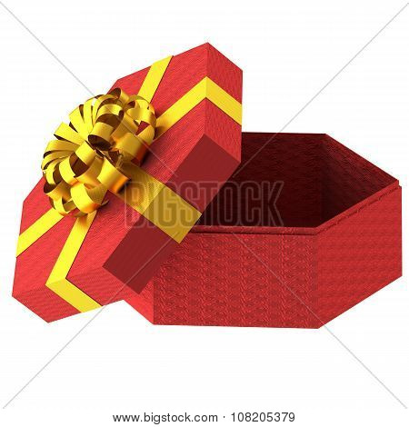 Bright Gift Box With Bowknot