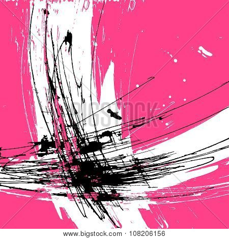 abstract background paint graphic
