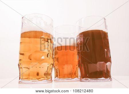 Retro Looking German Beer