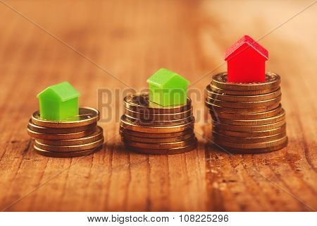 Real Estate Mortgage Concept