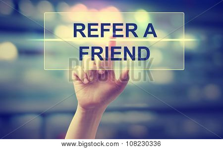 Hand Pressing  Refer A Friend