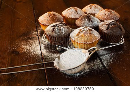 Muffins And Caster Sugar