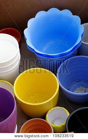 flowerpot group objects